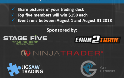 Battlestations! Win a prize for a pic of your trading desk.