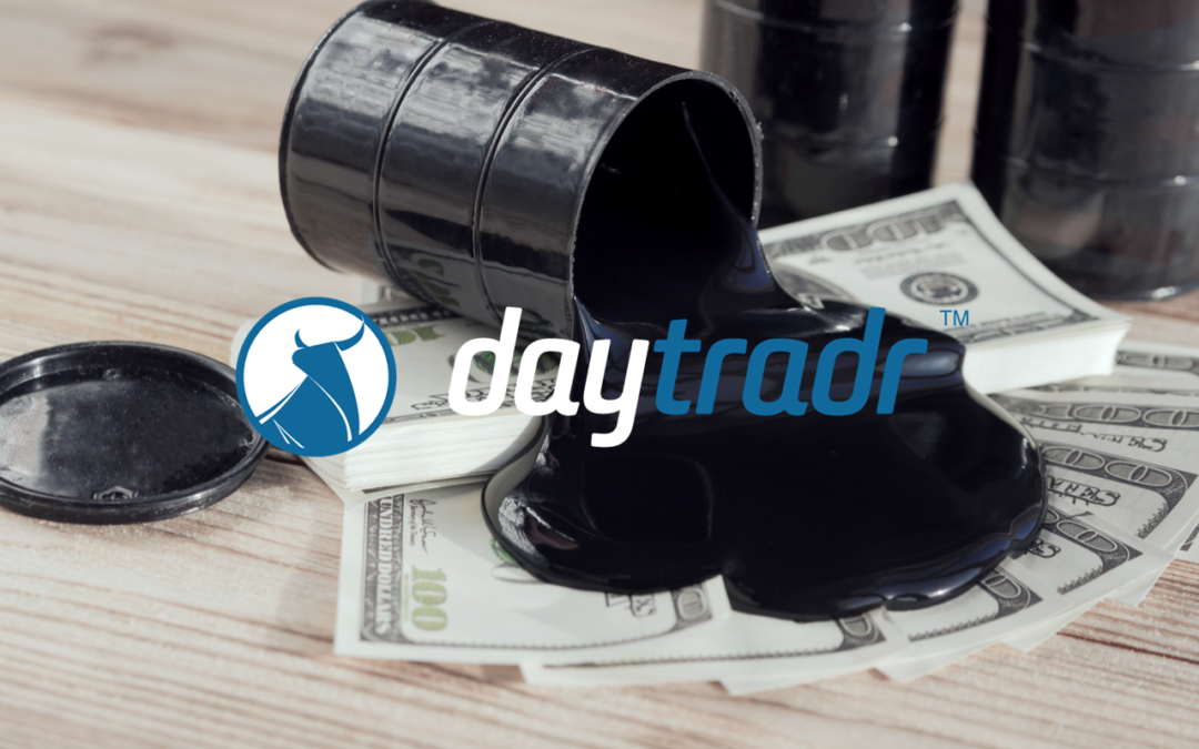 Trading Crude – How to Trade Absorption Off A Step in the Volume Profile