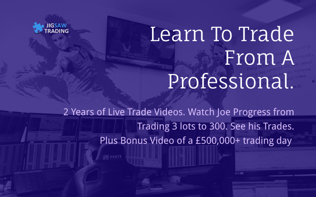 Trading Bigger and Better – 81 Live Trade Videos. £500,000 trading day. Trading Firm Tour.